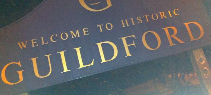 Guildford sign